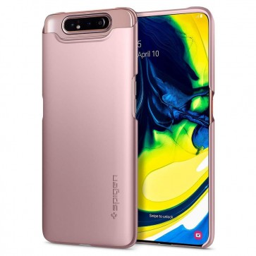 SPIGEN Thin Fit SAMSUNG A80 rose gold