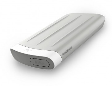 SILICON POWER εξωτερικός HDD Armor A65M, USB 3.0, IP67, 2TB, Gray