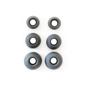 Rubbers for Earphones (3 Size in Set) black