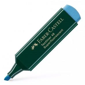 FABER-CASTELL μαρκαδόρος υπογράμμισης Textliner 48, μπλε, 1τμχ