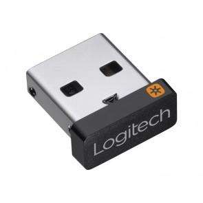 Logitech Accessories Unifying USB Receiver +++ Nano USB Dongle 2,4 GHz σύνδεση; 15x9x6 mm