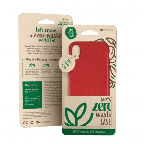 Forcell BIO - Zero Waste Case for SAMSUNG S10 red