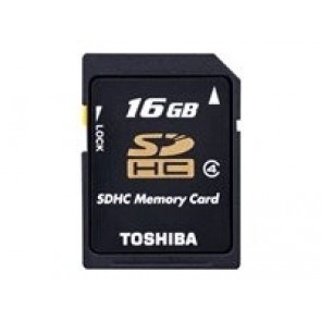 Toshiba SD-Card N102 16GB Black