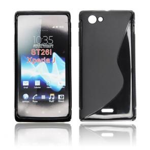 Back Case S-line - SON Xperia J/ST26i black