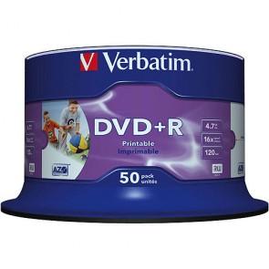 DVD ROH+R 4.7GB/ 16x Verbatim print. (50er Sp.)