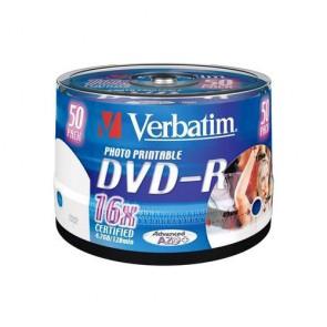 DVD ROH-R 4.7GB/ 16x Verbatim print. (50er Sp.)