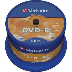 DVD ROH-R 4.7GB/ 16x Verbatim (50er Spindel)