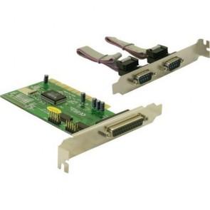 IO DeLock PCI Karte 2x seriell + 1x parallel