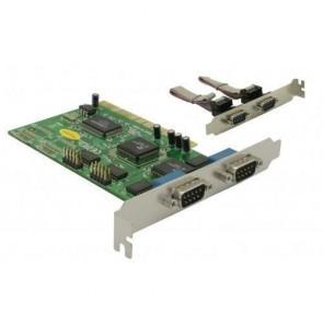 IO Delock PCI Karte 4x seriell DB9