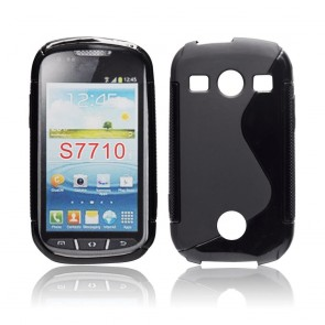 Back Case S-line - SAM Galaxy Xcover 2 (S7710)black