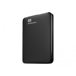 "Σκληρός δίσκος WD HDex 2.5"" USB3 1TB Elements Portable black"