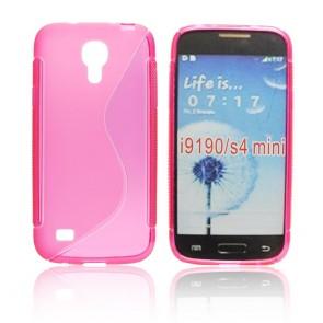 Back Case S-line - SAM I9190 Galaxy S4 Mini pink