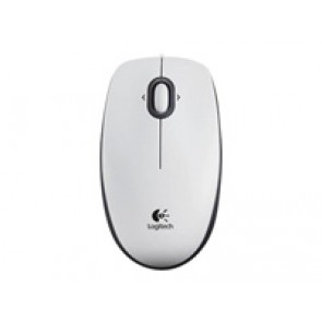 Logitech Mouse B100 Optical White