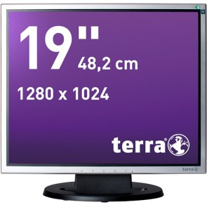TERRA LED 1940 silb/schw DVI GREENLINE PLUS #7
