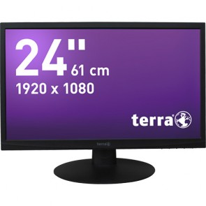 TERRA LED 2412W schwarz DVI GREENLINE PLUS #4