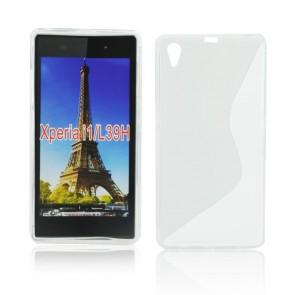 Back Case S-line - SON Xperia Z1 transparent