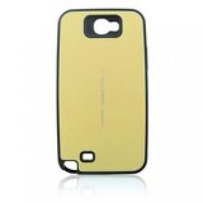 Θήκη Back Cover Focus Mercury για Samsung Galaxy Note 2 N7100 (Χρυσό)