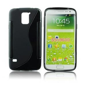 Back Case S-line - SAM Galaxy S5 black
