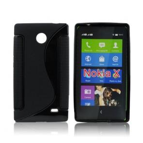 Back Case S-line - NOK X black