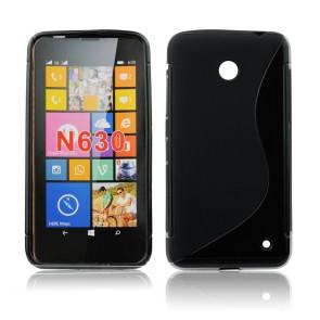 Back Case S-line - NOK 730/735 black