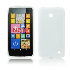Back Case S-line - NOK 630/635 white