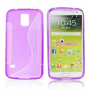 Back Case S-line - SAM Galaxy S5 violet