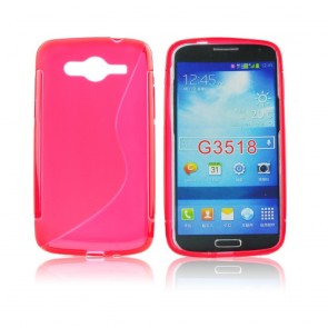 Back Case S-line - SAM Galaxy Core 2 - red