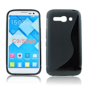 Back Case S-line - ALC One Touch C9 (7047D) - black