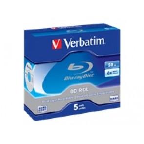 Verbatim  BD-R DL 50GB /1-6x JC 5erPack
