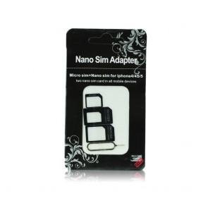Adapters Nano SIM/Micro, Micro Sim and Nano/Sim (NOOSY 3in1)