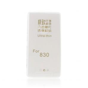 Back Case Ultra Slim 0,3mm - NOK 830 transparent