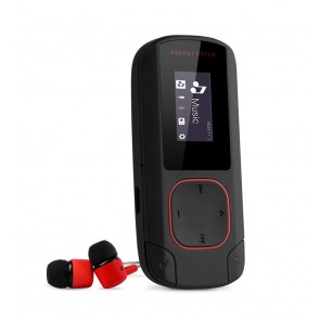 ENERGY SISTEM MP3 Player Clip, Bluetooth, LCD, coral