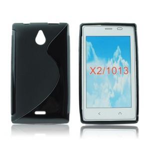 Back Case S-line - NOK X2 black