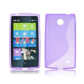 Back Case S-line - Nok X purple