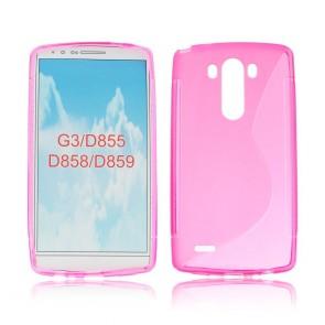 Back Case S-line - LG G3 pink