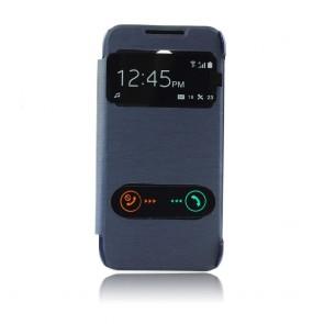S-VIEW case with window - HTC DESIRE 610 dark blue
