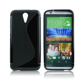 Back Case S-line - HTC Desire 620 black