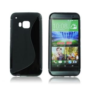 Back Case S-line - HTC M9 black