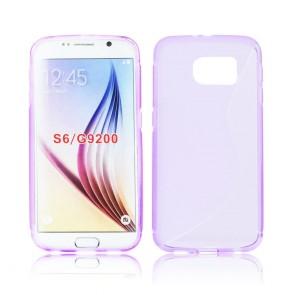 Back Case S-line - SAM Galaxy S6 violet