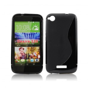 Back Case S-line - HTC Desire 320 black