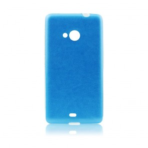 Jelly Case Leather  - SON E4G blue