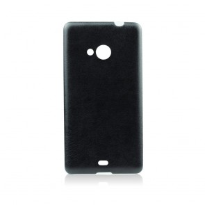 Jelly Case Leather  - HTC Desire 620 black