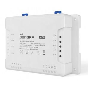 SONOFF Smart Διακόπτης WiFi 4CH R3, 4 θέσεων, 16A, λευκός