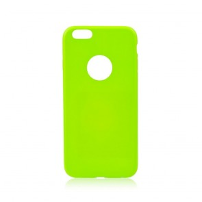 Jelly Case Flash  - IPHO 6/6S green fluo