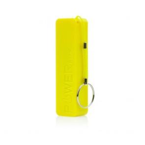 External Battery (Power Bank) 2200mAh yellow PERFUME