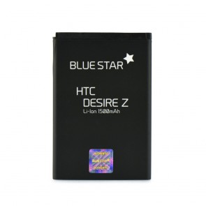 Battery HTC Desire Z/Mozart/Desire S(G12)/Incredible S (G11) EVO Shift 4G 1500 mAh Li-Ion Blue Star