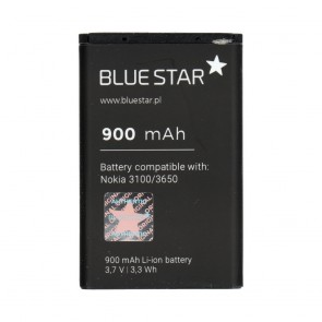 Battery for Nokia 3100/3650/6230/3110 Classic 900 mAh Li-Ion Blue Star