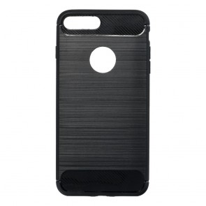 Forcell CARBON Case for IPHONE 7 Plus / 8 Plus black