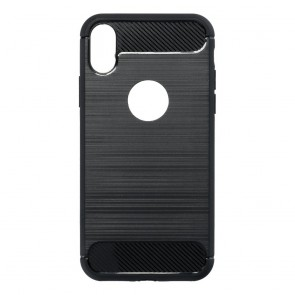 Forcell CARBON Case for IPHONE 12 / 12 PRO black