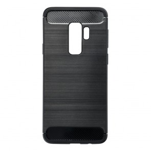 Forcell CARBON Case for SAMSUNG Galaxy S9 PLUS black
